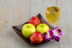 Suco de maçã fotos de stock royalty free