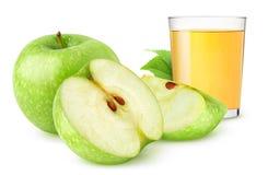 Suco de maçã fotos de stock