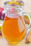 Suco de maçã Foto de Stock