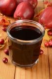 Suco de maçã do arando Fotografia de Stock