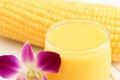 Suco de milho doce Imagens de Stock
