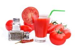 Suco de tomate ou Mary sangrenta Fotos de Stock