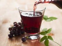 Suco de uva Imagem de Stock