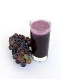 Suco de uva orgânico imagem de stock