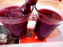 Suco de uvas Fotografia de Stock