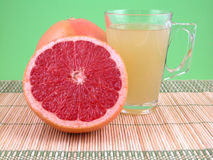 Suco do Grapefruit Imagens de Stock