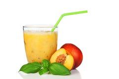 Suco do pêssego Imagem de Stock