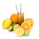 Suco dos citrinos Foto de Stock Royalty Free