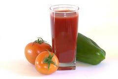 Suco dos tomates Suco natural Imagens de Stock