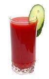 Suco e pepino de tomate imagem de stock royalty free