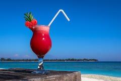 Suco fresco da melancia Imagens de Stock