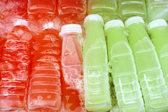 Suco fresco no frasco, goiaba Fotos de Stock