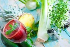 Suco orgânico Foto de Stock