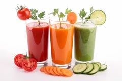 Suco vegetal Fotografia de Stock