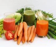 Suco vegetal Fotos de Stock Royalty Free