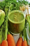 Suco vegetal Imagem de Stock