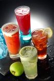 Sucos de fruta Imagens de Stock Royalty Free
