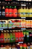 Sucos de fruto orgânicos Foto de Stock Royalty Free