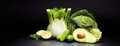 Sucos vegetais saudáveis para o rafrescamento e como um antioxidante Imagem de Stock