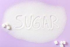 sucre photographie stock libre de droits