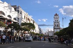 sucre bolivia Photo stock