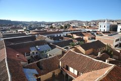 Sucre, Bolivia Immagini Stock Libere da Diritti