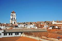 Sucre, Bolivien lizenzfreies stockbild