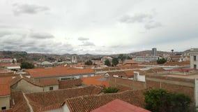 Sucre, Boliwia stolica linia horyzontu przegląd zbiory wideo