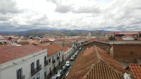 Sucre, Boliwia stolica linia horyzontu przegląd zdjęcie wideo