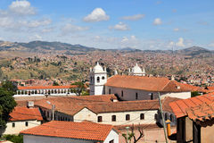 Sucre, capital of Bolivia - the white city Royalty Free Stock Image