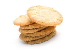 sucre de pile de biscuits Photographie stock