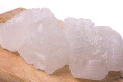 sucre de roche Images stock