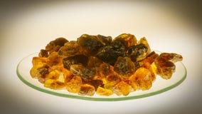 Sucre de roche de Kandis Images libres de droits