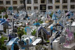Sucre do cemitério, Bolívia Imagens de Stock