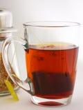 Sucre et thé Photographie stock
