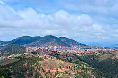 Sucre, hoofdstad van Bolivië stock fotografie