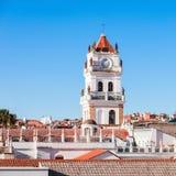 Sucre-Kathedrale lizenzfreie stockfotos