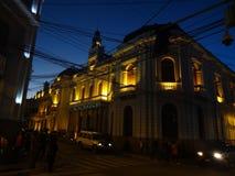 Sucre nachts Stockfotografie