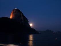 Sucre-Pain la nuit Images stock