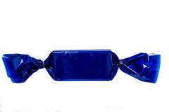 Sucrerie bleue Photos libres de droits