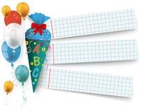 Sucrerie Cole Checked Paper Balloons Image libre de droits