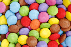 Sucrerie colorée Images libres de droits