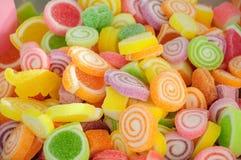 Sucrerie colorée de gelée images stock
