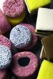 Sucrerie colorée de réglisse Images libres de droits