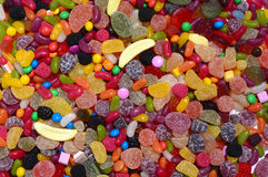 Sucrerie colorée Photo stock