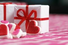 Sucrerie d'amour Photo libre de droits