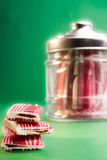 Sucrerie dans une bouteille Photos libres de droits