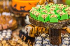 Sucrerie de caramel du ` s de grand-maman pour des parties Images stock