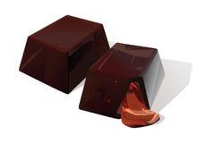Sucrerie de chocolat Images libres de droits