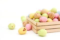 Sucrerie de chocolat d'oeuf de pâques Images stock